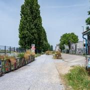 Keep walking (Industrial area of Basel)
